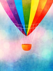 Free Hot Air Balloon Stock Photo - 32040380