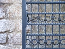 Free Wrought-iron Door Stock Photography - 32041132