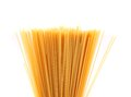 Free Top Bunch Spaghetti On A White Background Royalty Free Stock Photos - 32051088
