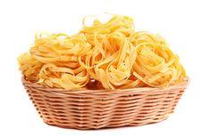 Free Tagliatelle Paglia E Fieno At Basket Stock Photos - 32051583
