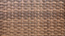 Free Sepia Basket Weave Pattern. Vignette. Royalty Free Stock Image - 32051756