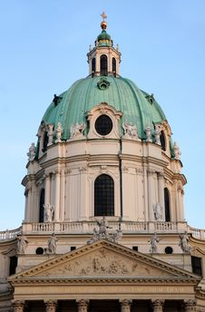 Free Karlskirche Church In Vienna, Austria Stock Photo - 32051930