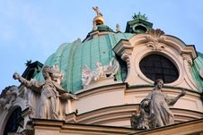 Free Karlskirche Church In Vienna, Austria Stock Photography - 32051962