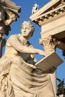 Free Austrian Parliament In Vienna, Austria Stock Images - 32052024