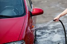 Free Car Wash Royalty Free Stock Photos - 32054218
