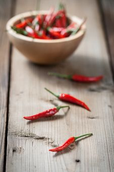 Free Red Hot Chilli Peppers Royalty Free Stock Photos - 32055188