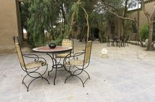 Free Patio With Table And Chairs Royalty Free Stock Photography - 32058367