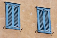 Free Mediterranean Windows Royalty Free Stock Image - 32061836