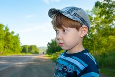 Free The Little Boy Stock Photography - 32069562