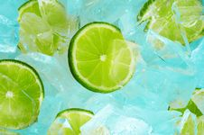 Free Lime & Ice Stock Images - 32072454