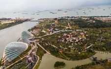 Free Gardens By The Bay Royalty Free Stock Images - 32077079