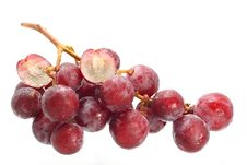 Free Bunch Of Red Grapes Stock Photography - 32079522
