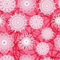 Free Pink Flowers Seamless Pattern Royalty Free Stock Photo - 32087115