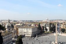 Free Piazza Del Popolo In Rome Stock Images - 32084444
