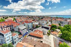 Istanbul. View From Yedikule Fortress Royalty Free Stock Photos