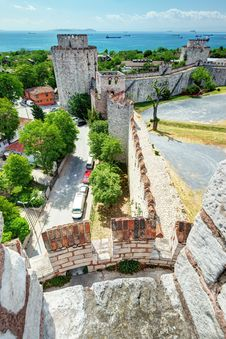Free The Yedikule Fortress In Istanbul, Turkey Stock Photos - 32086743