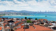 Istanbul, View From Yedikule Fortress Royalty Free Stock Image