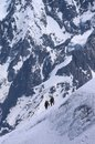 Free Mountaineers In French Alps Royalty Free Stock Image - 32090456
