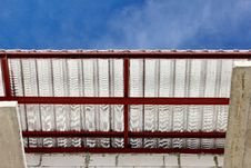 Steel Roof Royalty Free Stock Photo