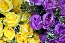 Rose Artificial Flower Royalty Free Stock Photos