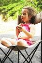 Free Pretzel Girl Royalty Free Stock Photos - 3215768