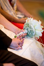 Free Hands While Wedding Ceremony Royalty Free Stock Photos - 3216648