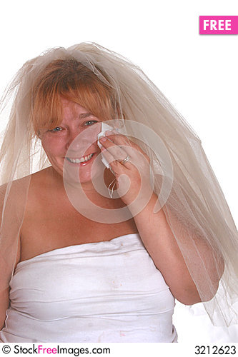 Free Crying Bride Stock Photos - 3212623