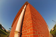 Free Red Brick Building Royalty Free Stock Photography - 3210207