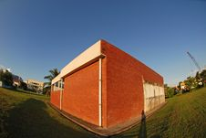 Free Red Brick Building Royalty Free Stock Photos - 3210208