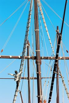 Free Ship Foremast Royalty Free Stock Photos - 3210668