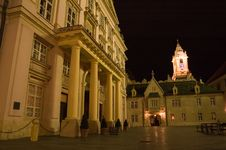 Free Bratislava In The Night Stock Photography - 3211932