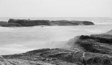 Free The Rock On The Sea-2 Stock Photos - 3212293