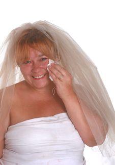 Free Crying Bride Stock Photos - 3212623