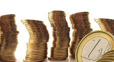 Free Coins Euro Stock Image - 3213201