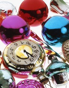 Free Christma Baubles Stock Images - 3213374
