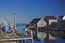 Free Peggy's Cove Fishing Village Stock Photos - 3213563