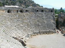 Free Ancient Roman Theatre Royalty Free Stock Photography - 3213627