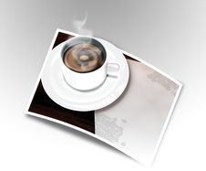 Free Coffee Cup Royalty Free Stock Photography - 3213897