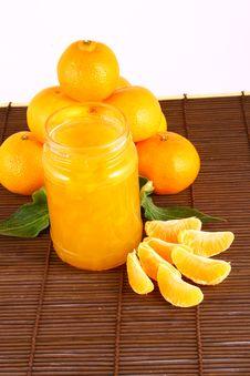 Free Jam Tangerines Stock Photography - 3214012