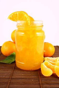 Free Jam Tangerines Royalty Free Stock Photo - 3214225