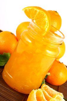 Free Jam Tangerines Royalty Free Stock Image - 3214296