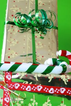 Free Gifts And Candy Stock Images - 3214594