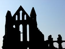 Whitby Abbey Royalty Free Stock Image