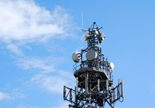 Free Communication Tower Royalty Free Stock Photos - 3215078