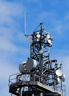 Free Communication Tower Royalty Free Stock Photography - 3215127
