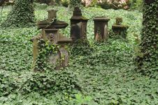 Old Graveyard Stock Image