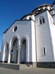 Free Entrance Of St. Sava Church Stock Photo - 3215560