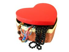 Free Red Heart Box Stock Photography - 3215752