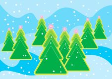 Free Christmas Tree Stock Photography - 3215832