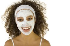 Free Cleaning Face S Skin Stock Photo - 3216300